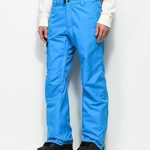 686 Quantum Thermagraph Ski Pants Snow Blue Mens